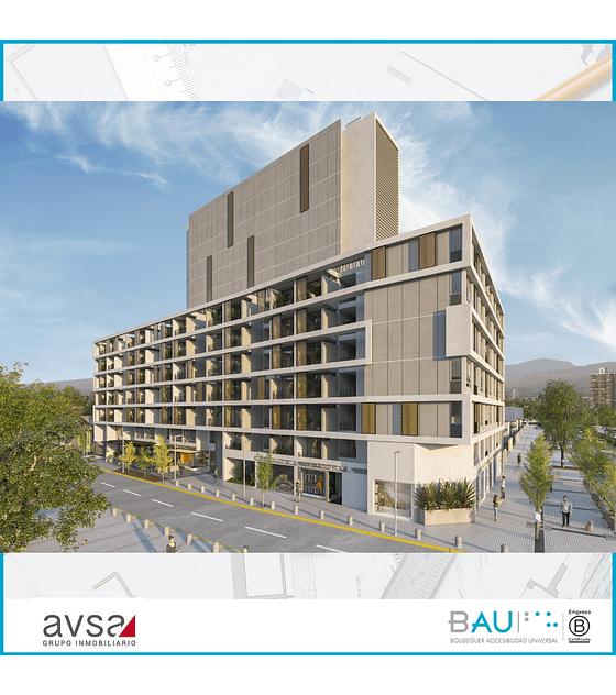 QUARTZ - Inmobiliaria AVSA (2D + 1B)
