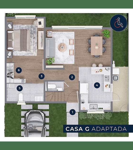 CASA G - Inmobiliaria 70W. (3D + 3B)