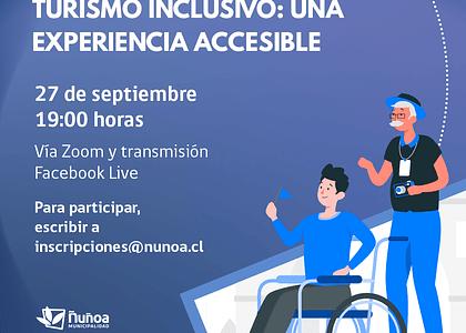 Conversatorio de Turismo Inclusivo: Una experiencia Accesible