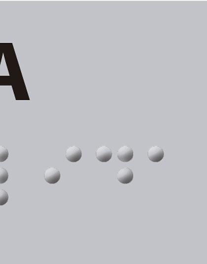 Señalética Braille para Pasamanos