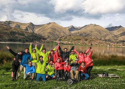 BAU Accesibilidad junto a la organización Wheel The World,  alcanzaron la cima de Machu Picchu en un acontecimiento histórico para el Turismo Inclusivo.
