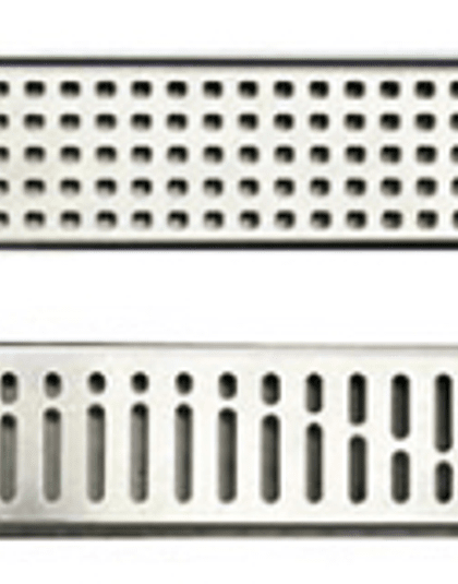 Canal de ducha plana 785mm - Rejilla modelo Wave