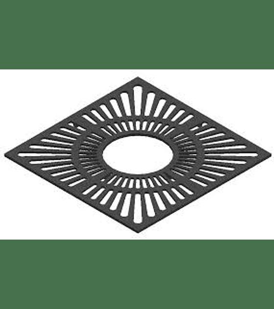 Rejilla de Alcorque en Fundición Cuadrada