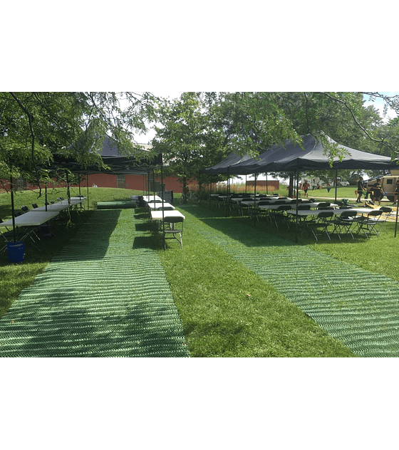 Pasarela GrassMat® para entornos accesibles