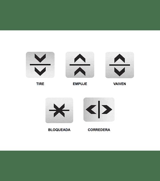 Señalética para puertas Universal Sign