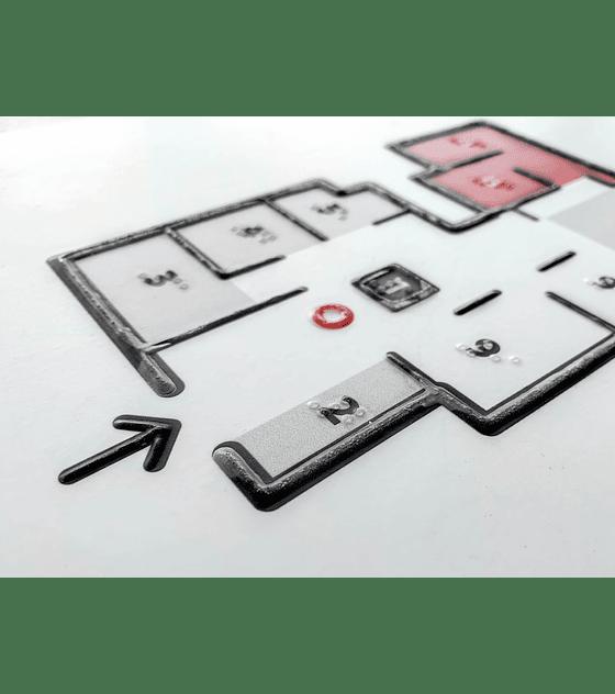 Mapa Táctil con Sobre Relieve + Braille