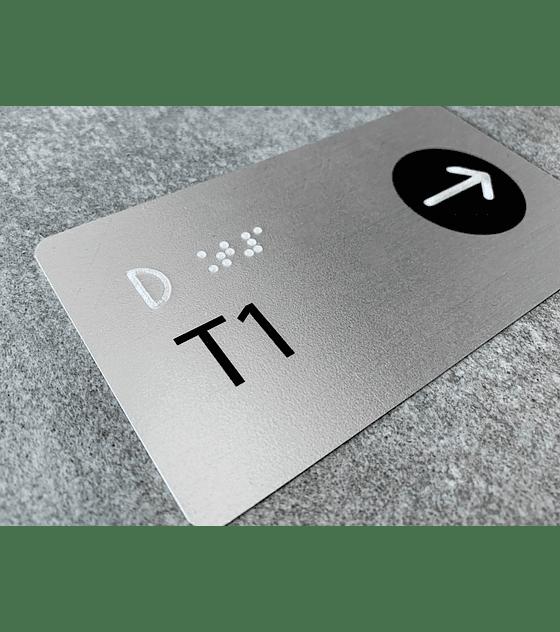 Señalética Braille para Pasamanos (A PEDIDO)