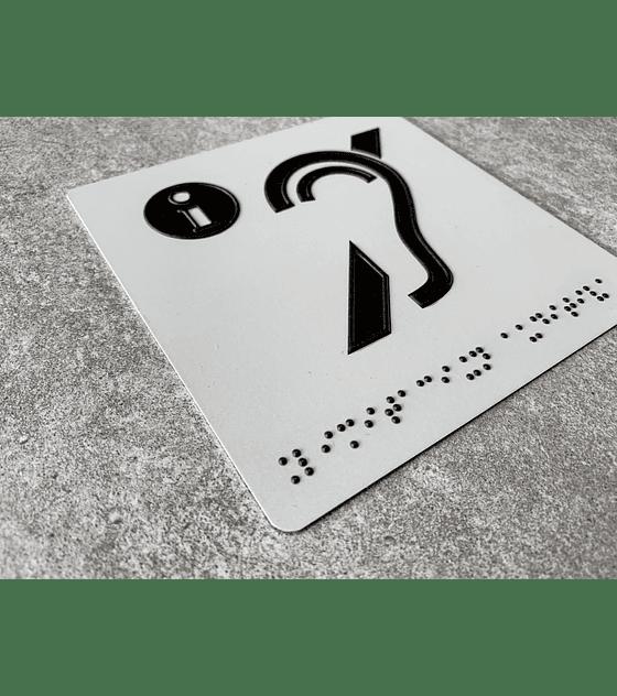 Pictograma Punto de Información Braille + Sobrerelieve
