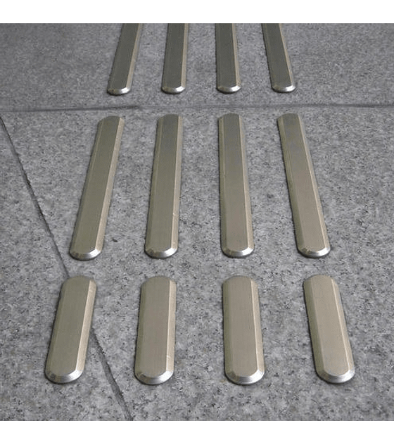 Barra podotáctil Hoba Steel - Acero Inoxidable