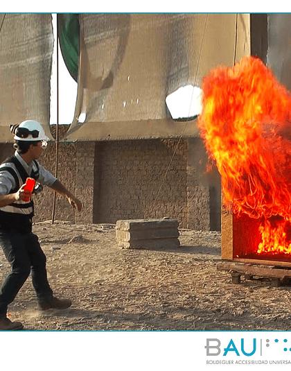Extintor lanzamiento directo FR911 FLAMEOUT