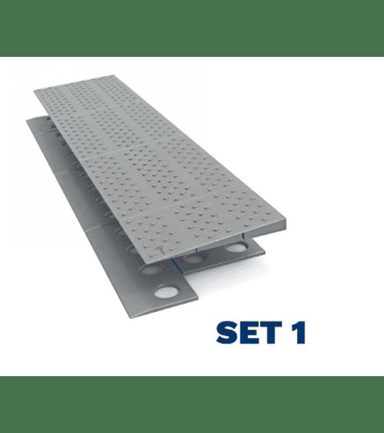Rampa modular adaptable