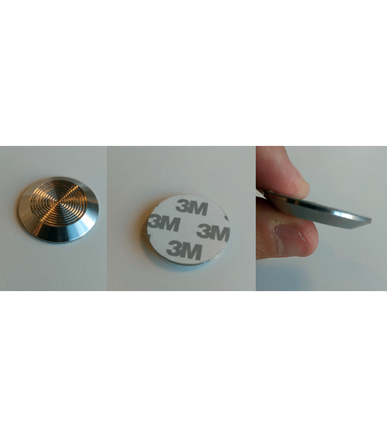 Botón Podotáctil de Acero Inoxidable