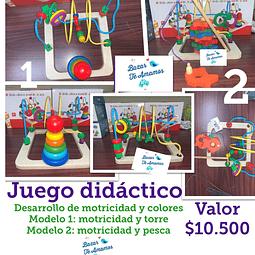 Juego didáctico: Torres y Pesca