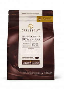 Chips Chocolate Belga 80% 2,5kg SIN GLUTEN - VEGANO