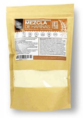 MEZCLA DE HARINAS SIN GLUTEN PARA MASAS DULCES 600 GR