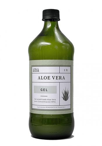 Aloe Vera orgánico: Gel Puro 1 Lt