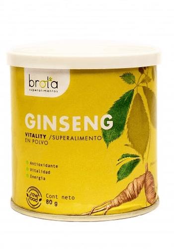 Ginseng en polvo SIN GLUTEN 80GR