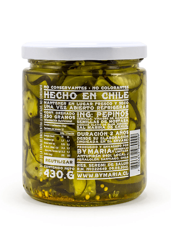 Pepinos DULCES 430 gr