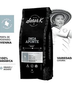 OFERTA 15% DSCTO CAFÉ DE COLOMBIA - INGA APONTE 250GR