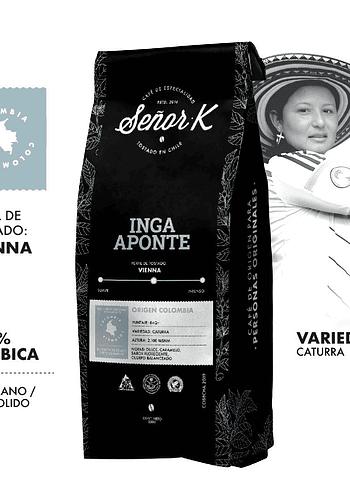 CAFÉ DE COLOMBIA - INGA APONTE 250GR