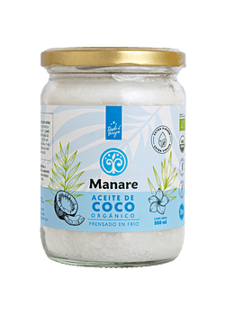 Aceite de coco orgánico MANARE 500ML
