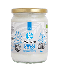 Aceite de coco NEUTRO orgánico 500ML