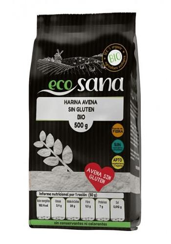 Harina de avena orgánica SIN GLUTEN 500gr