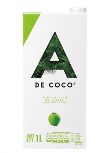 Agua de coco orgánica 946ml