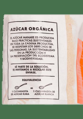Azúcar de caña (rubia) orgánica 1kgr