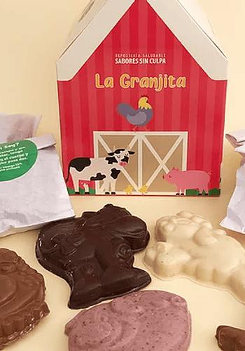 OFERTA 10% DESCTO La granjita de chocolates 200gr