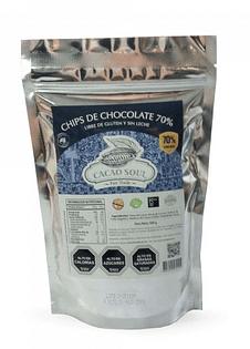 Chips chocolate 70% CACAO 500GR LIBRE DE GLUTEN Y LACTOSA