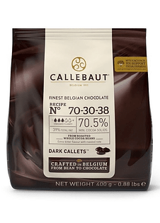 Chips Chocolate Belga 70% 400GR