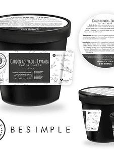 Mascarilla DETOX carbón activado orgánica (polvo) 100GR