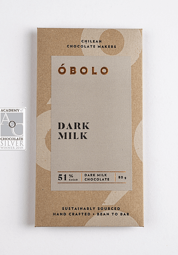 Chocolate 51% Cacao Dark Milk 80GR