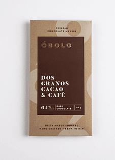 Chocolate 64% Cacao Coffee 80GR
