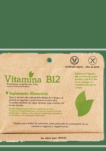 VITAMINA B12 90 PORCIONES