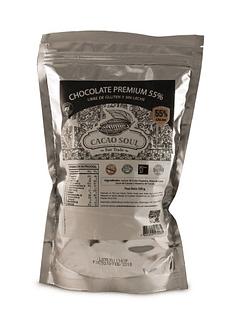 Monedas chocolate 55% CACAO 500GR LIBRE DE GLUTEN Y LACTOSA