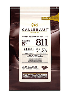 Chips Chocolate Belga 54% 1 KILO