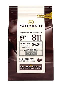 Chips Chocolate Belga 54% 1kg SIN GLUTEN - VEGANO