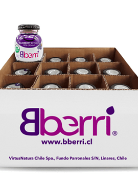 有机蓝莓精华液(24瓶/箱)