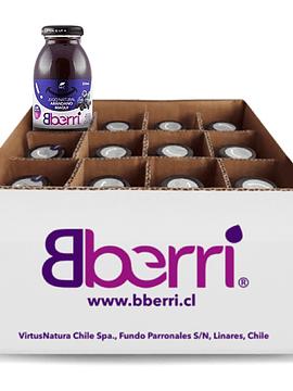 原榨有机蓝莓马基莓汁(12瓶/箱)