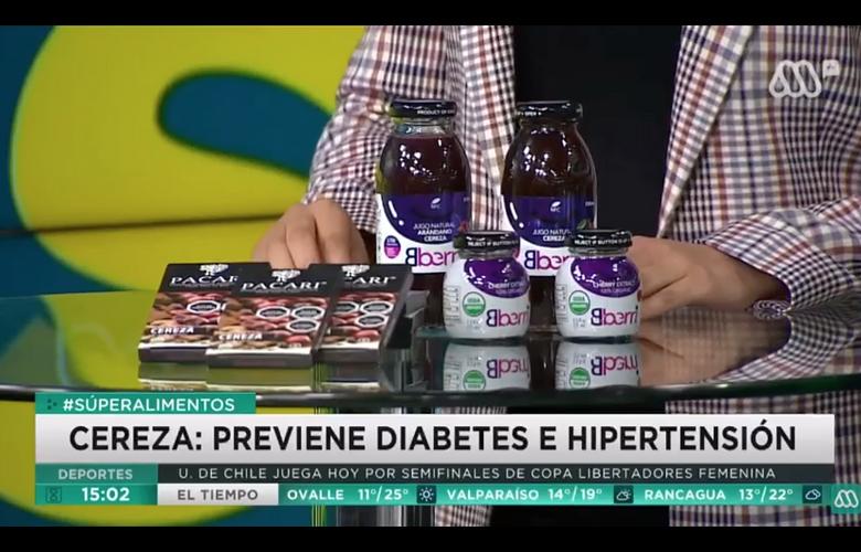 Bberri en MEGA: Cereza: Previene diabetes e hipertensión