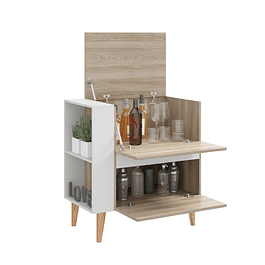 Bar Multiuso 1001 Drink Blanco/Beige