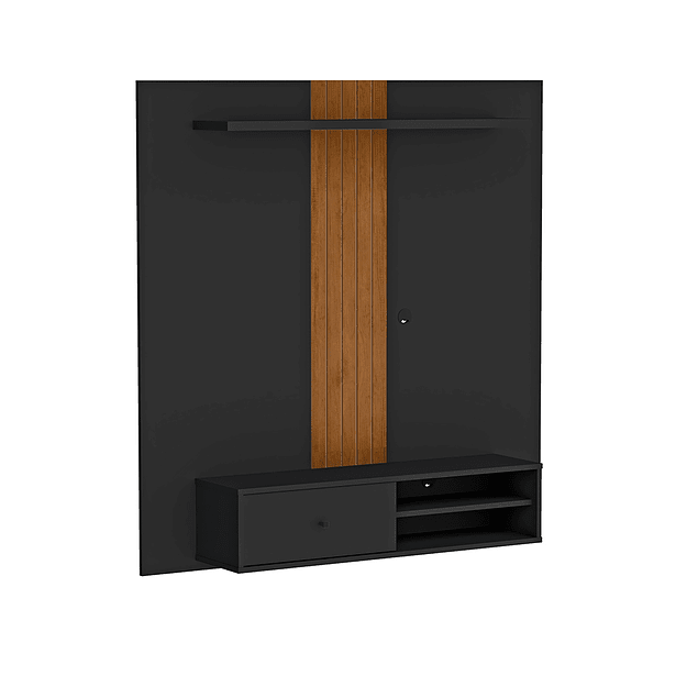 Rack Pared Negro Be Caramelo