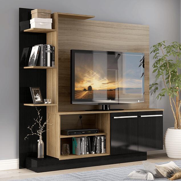 Estante Tv Simple Café
