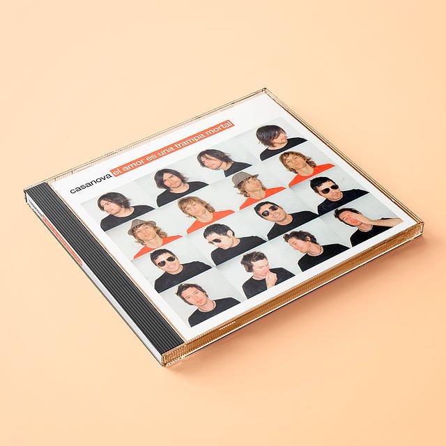 Casanova - El Amor Es Una Trampa Mortal (CD)