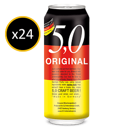 CRAFT BEER 5% 24X500cc