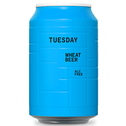 TUESDAY BAVARIAN WHEAT BEER SIN ALCOHOL 330cc