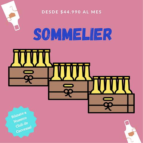 Suscripción Sommelier Agosto - 18 unid.