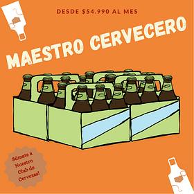 Suscripción Maestro Cervecero Agosto - 24 unid.